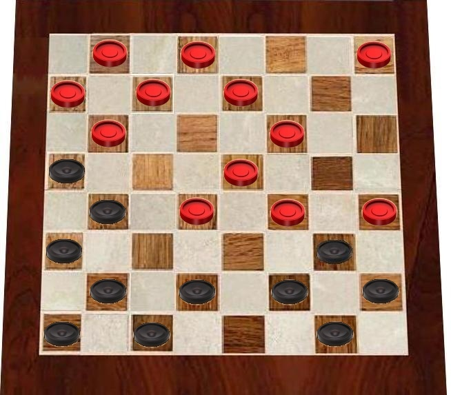 how to win checkers ac4